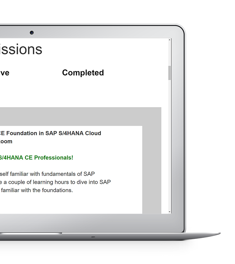 SAP Learning Hub | Cloud | SAP Store