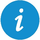 icon depicting 'i' for FAQ